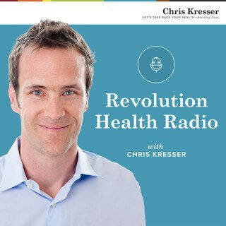 Revolution Health Radio podcast cover image